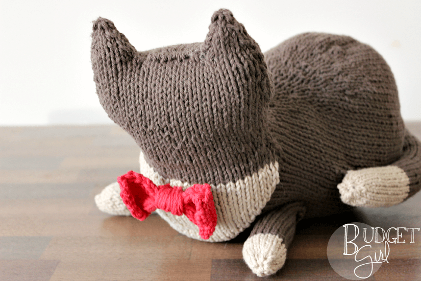 Stuffed Cat Knitting Pattern Tastefully Eclectic
