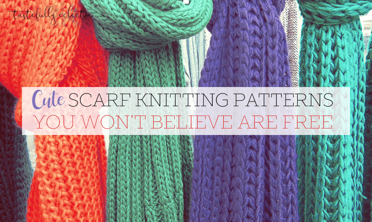 20 Knitting Patterns You\'ll Have a Ball With - Tastefully Eclectic