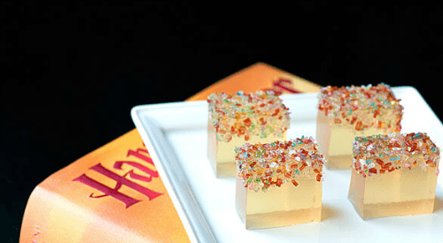 Butterbeer Jello Shots -- Tastefully Eclectic