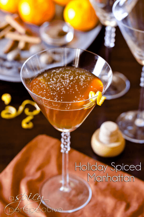 Spiced Manhattan - Tastefully Eclectic