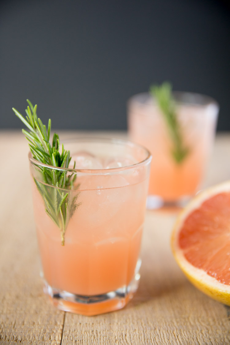 Rosemary Greyhound Cocktail - Tastefully Eclectic