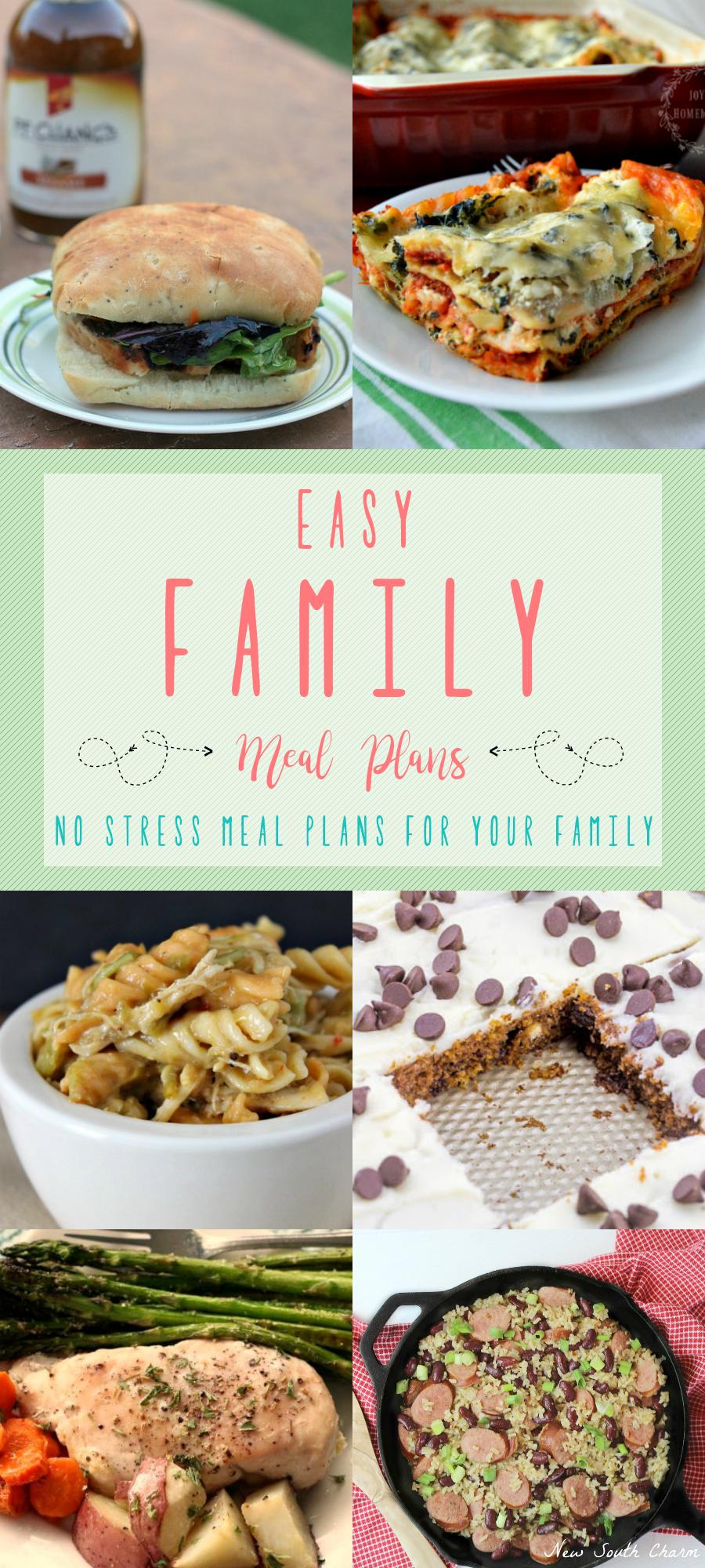 Easy Dinner Ideas for Your Family - Tastefully Eclectic